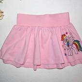 My little pony. Польша. Двухслойная юбочка на девочку. Много лотов.