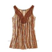 Удлиненная кружевная блуза Esmara! Германия! Большемерит! М евро 40-42