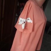 блузка з прекрасними рукавами