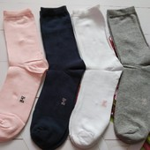 Лот-4пары.Удобные хлопковые носки 39-42р Pepperts Германия,много лотов
