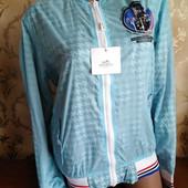 Женская куртка ветровка Hermes. размер xl (48-50)