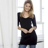 Стильное трикотажное платье туничка Esmara Германия евро 40\42