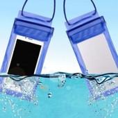 Водонепроницаемый чехол -защита для смартфонов.Удобно в дощ,в бассейн,от пыли,для фото под водой1шт