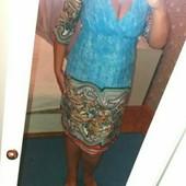 Удобное мягкое платье для дома и прогулок L
