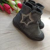 Демисезонные ботиночки для девочки р-р 23, стелька 15см. M&S.
