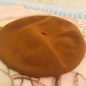 Новый берет шикарного качества +шапка в подарок !