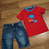 Шортики Chips Cheps+футболка Rebel, р 104-110 (4-5 л)
