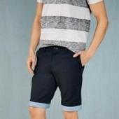 Стильные хлопковые шорты с отворотом Livergy  58
