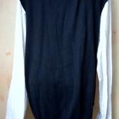 Мужской свитер- обманка размер ХЛ