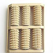 ✅Массажер для ног деревянный Счеты зубчатые из колючей из березы