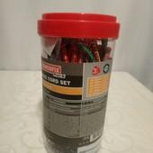 PowerfixProfi Германия Набор 18шт крепежных резинок с металлическими крючками
