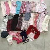 Пакет вещей для девочки 9-12 месяцев