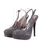 Туфли Iskrina на высоком каблуке со стразами