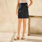 Стильная льняная юбка Esmara размер евро 368