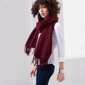 ☘ Теплый шарф для стильного образа от Tchibo (Германия), размеры: 74х200 см