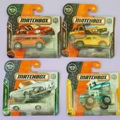 Оригинал Mattel 4 машинки Matchbox в упаковках с нюансами