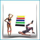 Набор из 5 фитнес-резинок для тренировок подарок мешочек