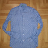 ☀️ Абалденная лёгкая рубашка, фактурная ткань. Смотрите замеры!