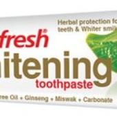 Отбеливающая зубная паста EuroFresh Whitening от Farmasi ! 50гр !
