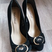 Шикарные замшевые туфельки Maria moro в идеале