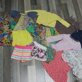 речі для дівчинки 1-2 роки, все одним пакетом