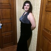 Вечернее платье бархат подойдет на размер 46-50 тянется