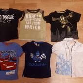Пакет футболки,регланы,пиджак,шапочка мальчику (1.5-4года)