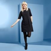 ☘Красивое стильное платье в горох,100% био-хлопок,Tchibo(Германия),р. наши: 42/44/46 (36/38 евро)