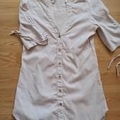 Платье рубашка,легкая летняя.