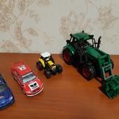 Машинки Kinsmart, трактора и др. См.все фото.