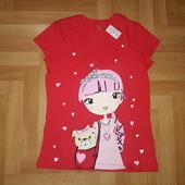 ❤️ Новая футболка на подростка по бирке размер ХL (14 лет)
