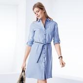 Стильное платье-рубашка от Tchibo( Германия). Размер евро 42, на наш 48