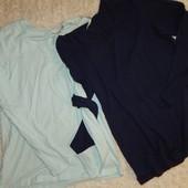 комплект: две футболки с длинным рукавом от Blue Motion. Германия. Био хлопок