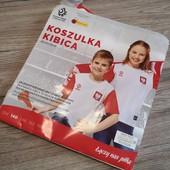 Польша! Оригинальная футболка! Сборная Польши, размер 140 см.