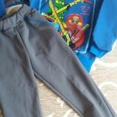 Детский костюм Ниньдзяго, цвет синий, на 2-3 года