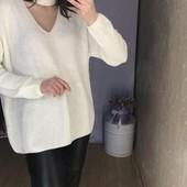 Стильный свитер с чокером.ПОГ 72см