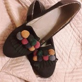 """Сліпони-туфлі в стилі """"INDI"""""""