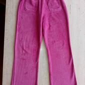 Велюровые штаны для девочки р. 128