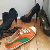 лот обуви размер 37,38.