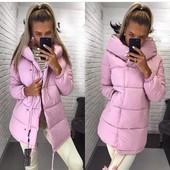 Модная и стильная куртка Зефирка, матовая плотная плащевка. Сезон осень-зима. 42, 44, 46 рр, 4 цвета