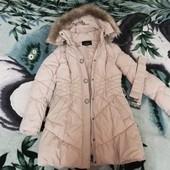 Куртка зимняя - пальто. Состояние отличное. Мерки в описании