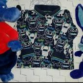 Рубашка_реглан,лонгслив монстрики, bluezoo