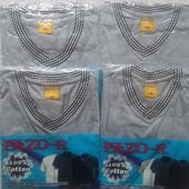 Качественная мужская футболка,100% хлопок.Fazo-R(Узбекистан) последняя