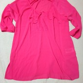Легкая летняя блуза на каждый день, можно на пляж от Esmara. Размер евро 46