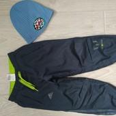 Спортивные брюки для мальчика на 110 см,Adidas-оригинал!
