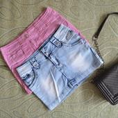 Лот 2 джинсовых юбки в идеале на S-M