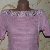 футболочки ажурной вязки, очень круто смотрятся! наличия мало! ниже закупки отдаю!