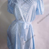 Летнее платье, с плечами под поясок, с боковыми карманами.