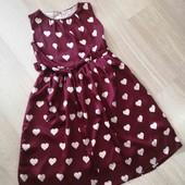 Шикарное платье на девочку 12 лет.
