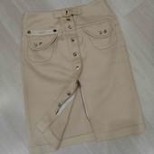 Очень классная юбочка золотистого цвета, Rimit, размер XS-S.